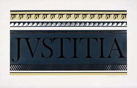 Roy Lichtenstein, 'Entablature X', 1976