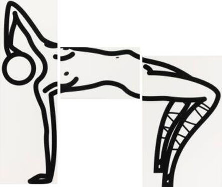 Julian Opie, 'This is Shahnoza in 3 parts/1', 2008