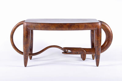 Judy Kensley McKie, 'Dog Bites Tail Table/ Bench', 2010