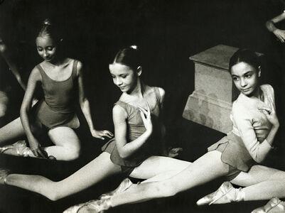 Kim Camba, 'A Trio of Young Ballerinas', 1973