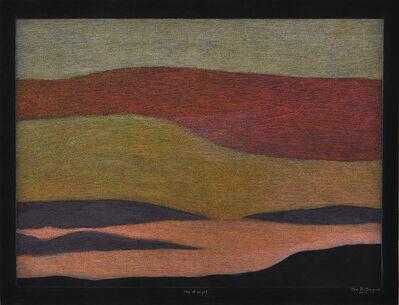 Itee Pootoogook, 'Sky At Night', 2012