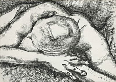 Lucian Freud, 'Reclining Figure', 1994