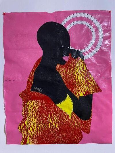 Rufai Zakari, 'Black, Bald and Proud II', 2021