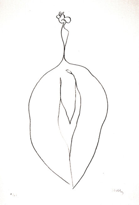 Ellsworth Kelly, 'Seaweed (Algue)', 1965