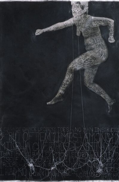 Lesley Dill, 'Leaping Woman', 1997