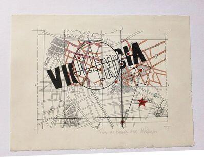 Margarita Paksa, 'Violencia (de la serie Toma del Batallon 601)', 1975