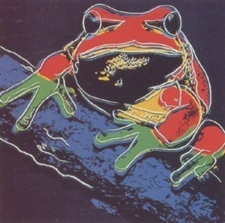 Andy Warhol, 'ENDANGERED SPECIES: PINE BARRENS TREE FROG FS IIB.294', 1983