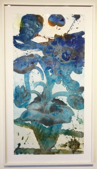 Catherine Howe, 'Reverse Carborundum Painting (Bluits)', 2015