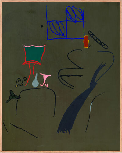 Simone Blain, 'Mid Century Living Room', 2017