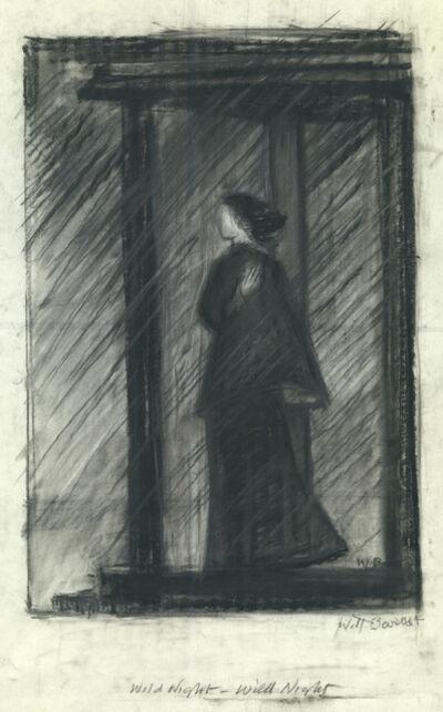 Will Barnet, 'Wild Night', ca. 1989
