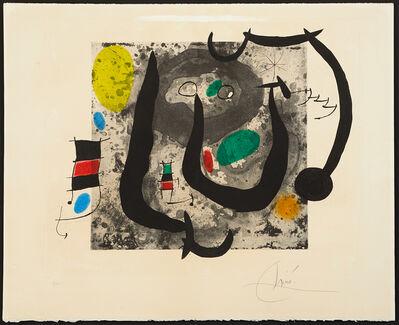 Joan Miró, 'Les Armes du Sommeil', 1970