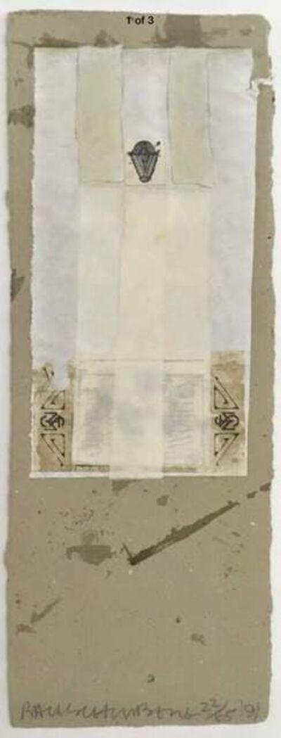 Robert Rauschenberg, 'Shirtboard, Morocco', 1991