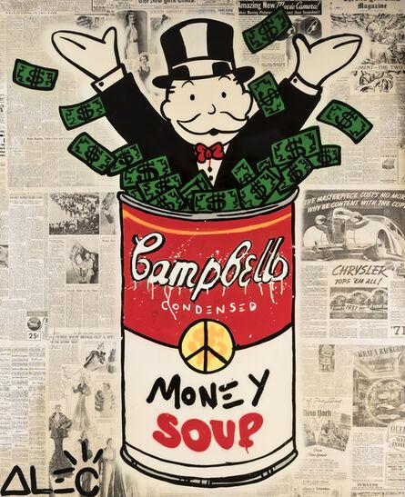 Alec Monopoly, 'Money Soup', 2017