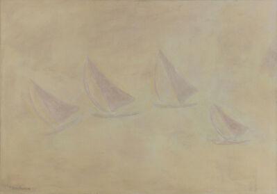 Milton Avery, 'Yacht Race in Fog', 1959