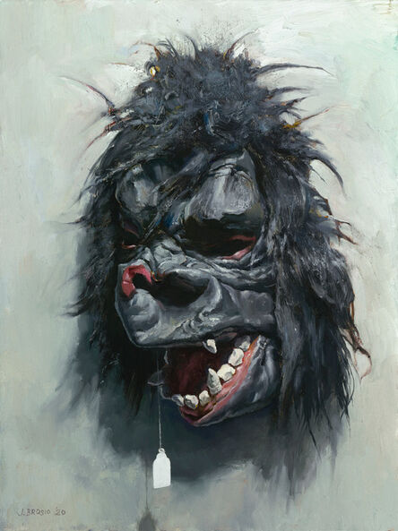 John Brosio, 'Gorilla Mask II', 2019