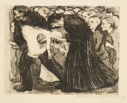 Käthe Kollwitz, 'Run Over', 1910