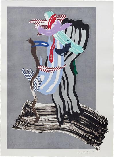 Roy Lichtenstein, 'Grandpa, from Brushstrokes Figure Series', 1989