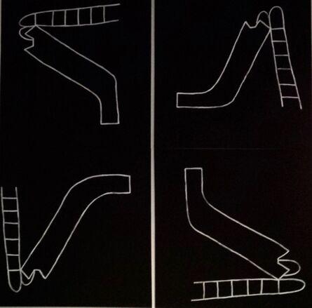 Oscar Figueroa, 'Dreamt of Movement (Slide Rotation) ', 2017