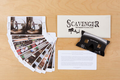 Jenny Riffle, 'Scavenger: Adventures in Treasure Hunting, with Stereoviewer and Cards Set', 2015