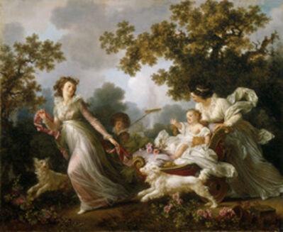 Marguerite Gérard, 'The Beloved Child (L'Enfant chéri)', ca. 1790