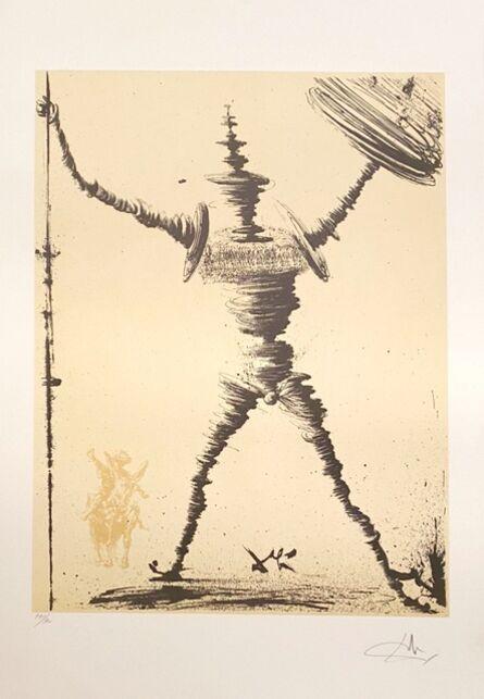 Salvador Dalí, 'Don Quichotte', ca. 1980