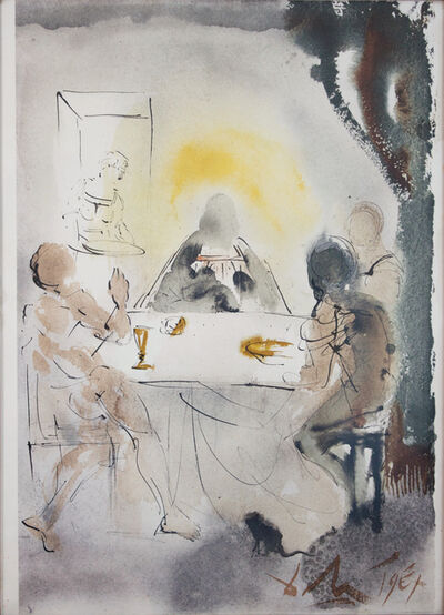 Salvador Dalí, 'And They Recognized Him In The Breaking Of The Bread', 1964-1967