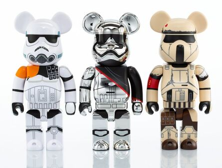 BE@RBRICK, 'Group of Three Star Wars 400% Be@rbricks', 2016-17
