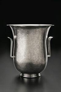 Luigi Genazzi, 'Art Deco Hammered Vase', ca. 1930