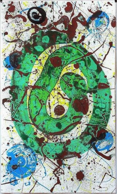 Sam Francis, 'For the Blue Sons of the Air', 1990