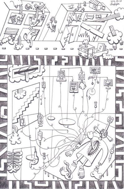 Fi Lee, 'Drawing 4', 2015