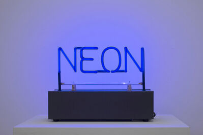 Joseph Kosuth, 'Neon', 1965
