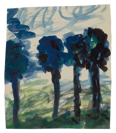 Fritz Ascher, 'Four Trees', 1963