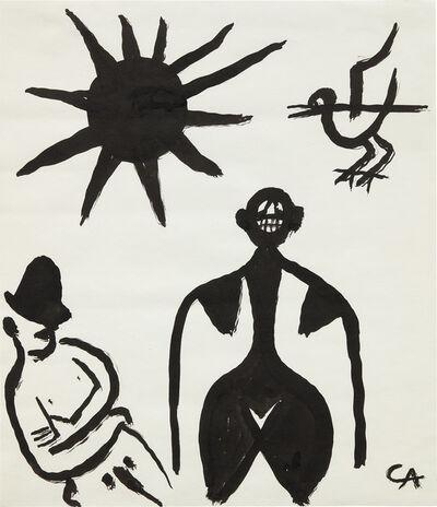 Alexander Calder, 'Untitled (Man, Woman, Bird and Sun)', ca.1968