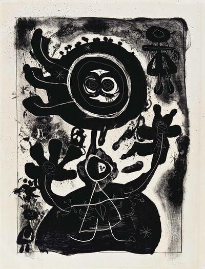 Joan Miró, 'Grand Personnage Noir', 1948