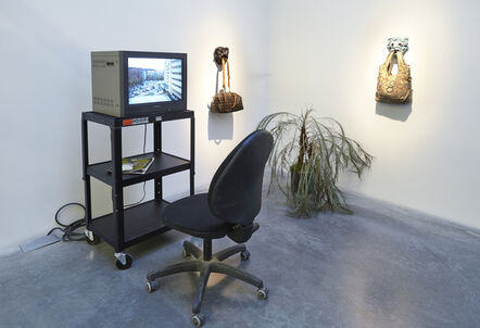 """Laure Prouvost, 'Installation view, """"Laure Prouvost: For Forgetting""""', 2014"""