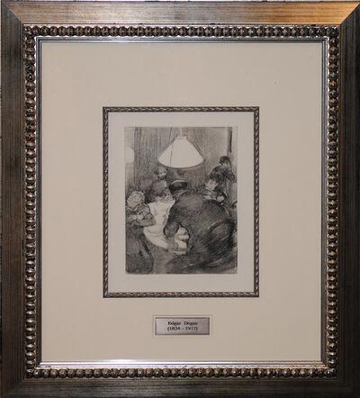 Edgar Degas, 'The Famous Good Friday Dinner', 1938-1939
