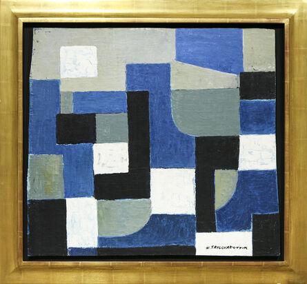 Nina Tryggvadottir, 'Abstraction (NT-OL-52-08) ', 1952