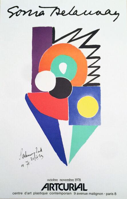 Sonia Delaunay, 'Sonia Delaunay, ARTCURIAL, centre d'art plastique comtemporain Poster/Print   Original Poster', 1978