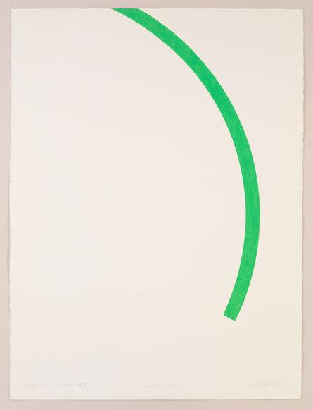 "Stephen Antonakos, '""Fragment of a Circle"" #3', 1976"