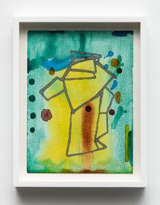 Christina Mackie, 'Green and machine 7', 2020