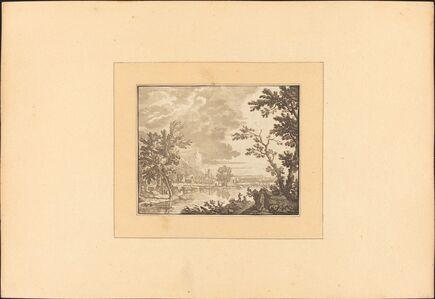 Katharina Prestel after Jan van Huysum, 'Landscape', published 1782