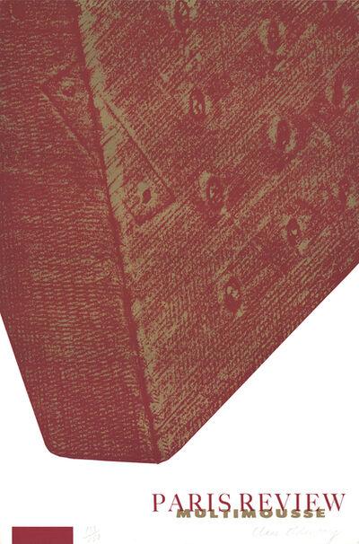 Claes Oldenburg, 'Corner of a mattress (Paris Review: Multimousse)', 1965