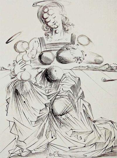 Salvador Dalí, 'Disintegrating Mother & Child', 1989