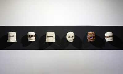 Avelino Sala, 'Balaclavas (Evolución del sombrero Panamá)', 2015