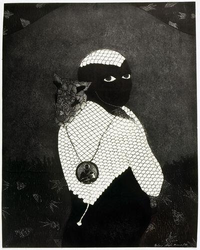 Belkis Ayón, 'Sin título (Sikán con chivo) (Untitled (Sikán with Goat))', 1993