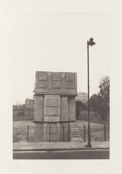 Rachel Whiteread, 'House, from Stützmappe (Support Portfolio)', 1995