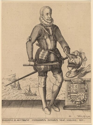 Christoffel van Sichem I, 'Philip II, King of Spain'