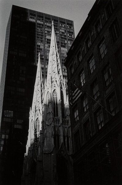 Leonard Freed, 'St. Patrick's Cathedral, New York', 1995