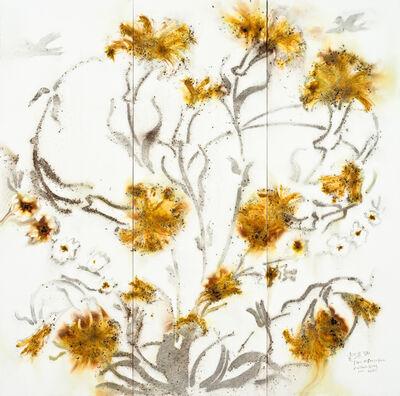 Cai Guoqiang 蔡国强, 'Flora on Porcelain', 2011