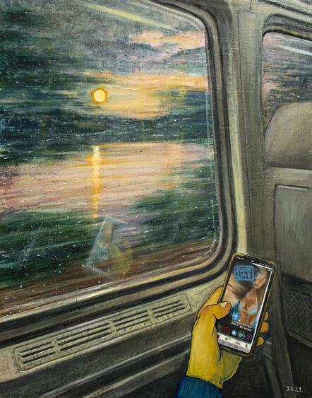 Stipan Tadić, 'Tinder Sunset', 2021